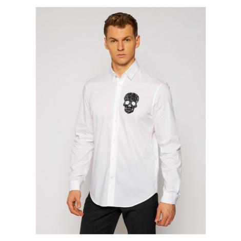 Just Cavalli Koszula S01DL0287 Biały Regular Fit