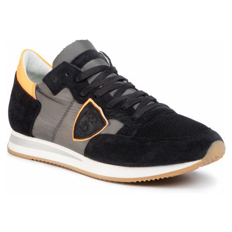 Sneakersy PHILIPPE MODEL - Tropez TRLU WF13 Neon Noir Orange