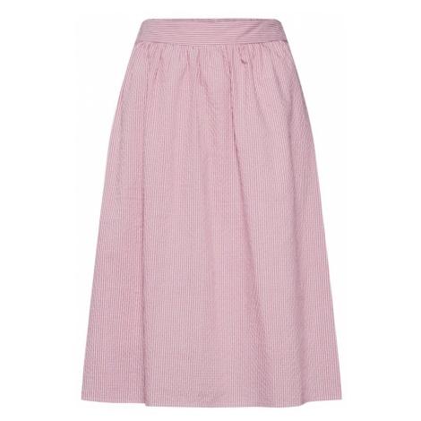 VERO MODA Spódnica 'Jane' różowy / biały