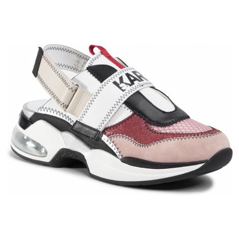 Sandały KARL LAGERFELD - KL61712 Pink Mix Textile