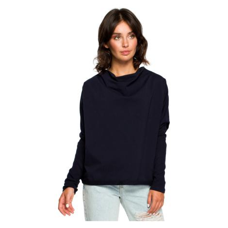 BeWear Woman's Sweatshirt B094 Navy Blue