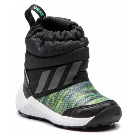 Śniegowce adidas - RapidaSnow Btw I AH2606 Cblack/Refsil/Sholim