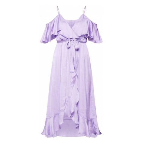 Bardot Sukienka koktajlowa fioletowy / liliowy