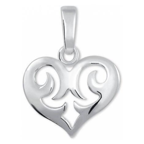 Brilio Silver Dzieci Srebrnywisiorek Srdíčko 446 154 00179 04 - 0,60 g srebro 925/1000