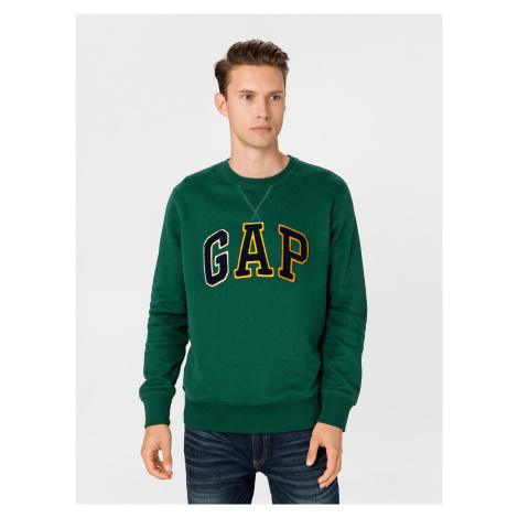 GAP zielona bluza męska