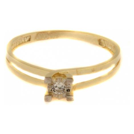 Pierścionek złoty 34560