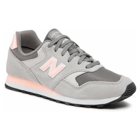 Sneakersy NEW BALANCE - WL393VA1 Szary