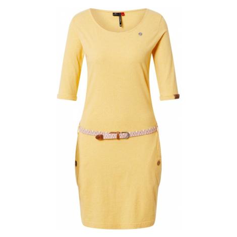Ragwear Sukienka 'Tanya' żółty