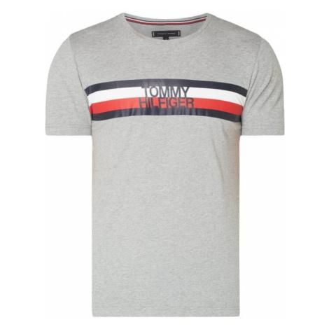 T-Shirt z bawełny organicznej z nadrukiem z logo Tommy Hilfiger