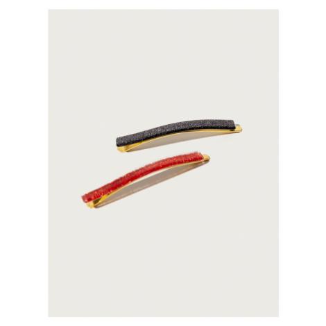 Pico for EDITED Biżuteria do włosów 'Sparkle' czerwony / czarny