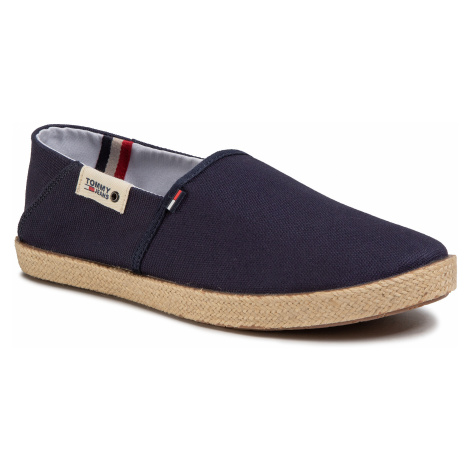 Espadryle TOMMY JEANS - Summer Shoe EM0EM00423 Twilight Navy C87 Tommy Hilfiger