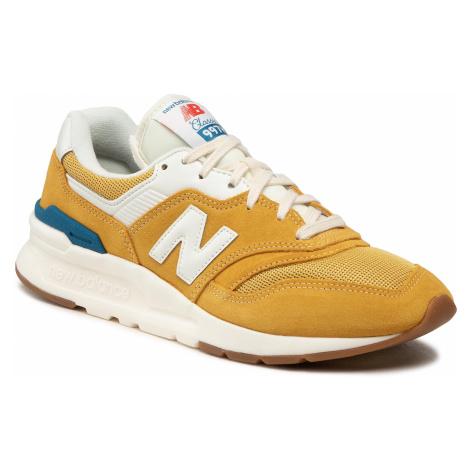 Sneakersy NEW BALANCE - CM997HRW Żółty