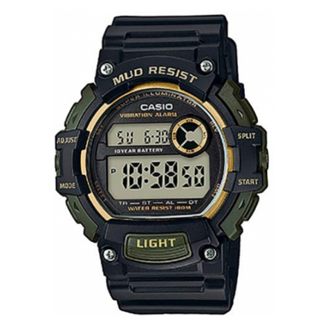 Zegarek CASIO - Mud Resist TRT-110H-1A2VEF Black/Green