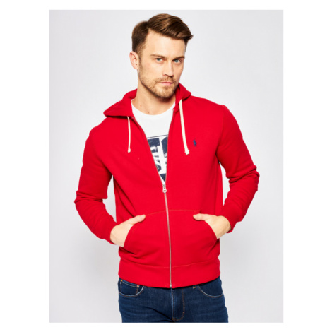 Polo Ralph Lauren Bluza 710548546 Czerwony Regular Fit