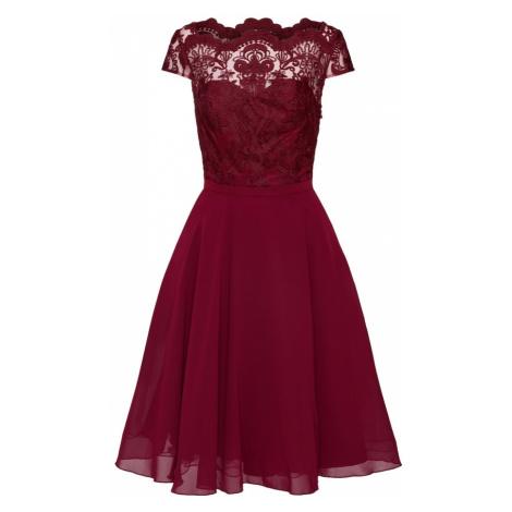 Chi Chi London Sukienka koktajlowa 'CHI CHI SANI DRESS' burgund