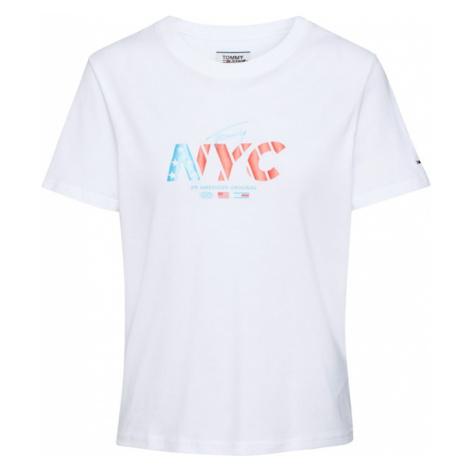 Tommy Jeans Koszulka 'NYC' biały Tommy Hilfiger