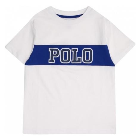 POLO RALPH LAUREN Koszulka ciemny niebieski / biały