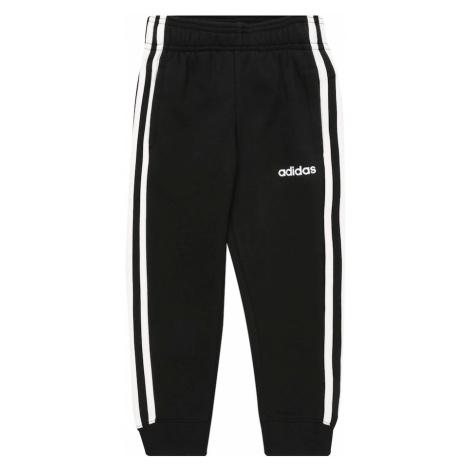 ADIDAS PERFORMANCE Spodnie sportowe biały / czarny