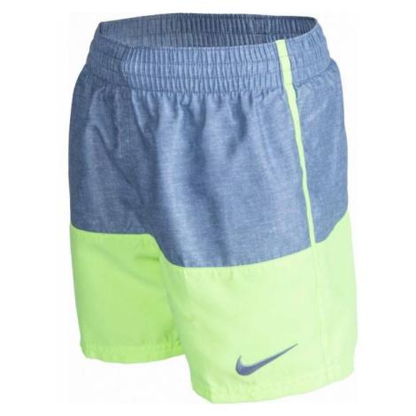 Nike LINEN SPLIT BOYS szary L - Szorty kąpielowe chłopięce