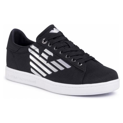 Sneakersy EA7 EMPORIO ARMANI - X8X001 XK124 N629 Black/Silver