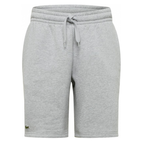 Lacoste Sport Spodnie sportowe jasnoszary / zielony