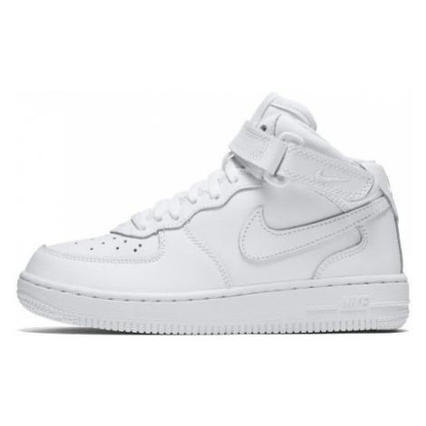 Buty dla małych dzieci Nike Force 1 Mid - Biel