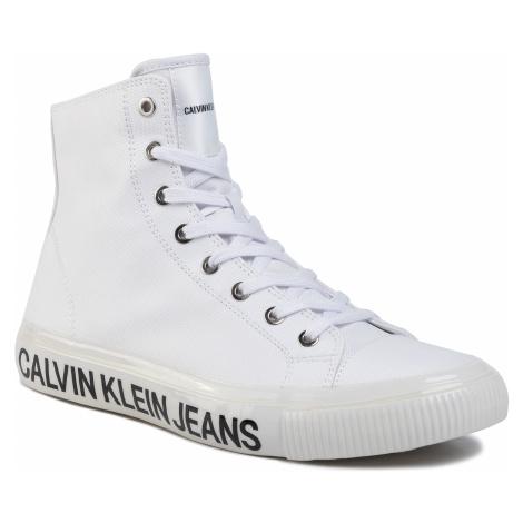 Sneakersy CALVIN KLEIN JEANS - Deforest B4S0113 White