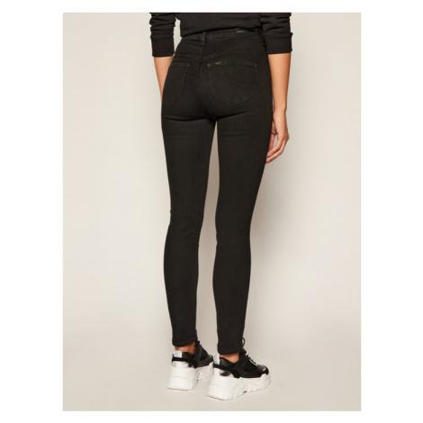 Lee Jeansy Skinny Fit Scarlett L30LSY47 Czarny Slim Fit