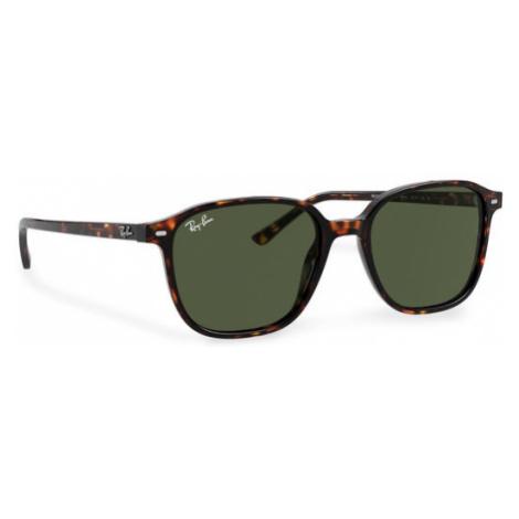 Ray-Ban Okulary przeciwsłoneczne Leonard 0RB2193 902/31 Brązowy