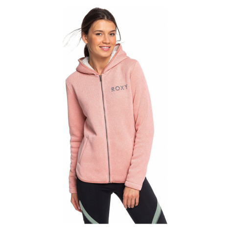 bluza Roxy Slopes Fever A Zip - MHWH/Rosette Heather