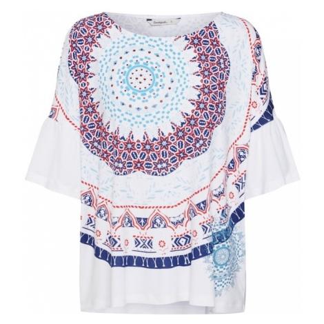 Desigual Koszulka 'TS_Liverpool' jasnoniebieski / mieszane kolory / biały