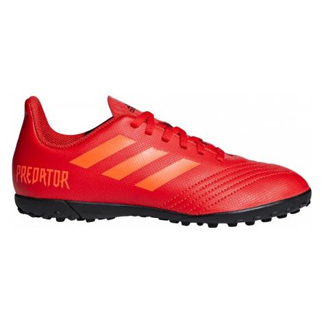 Adidas Predator 19.4 TF Młodzieżowe Czerwone (CM8557)