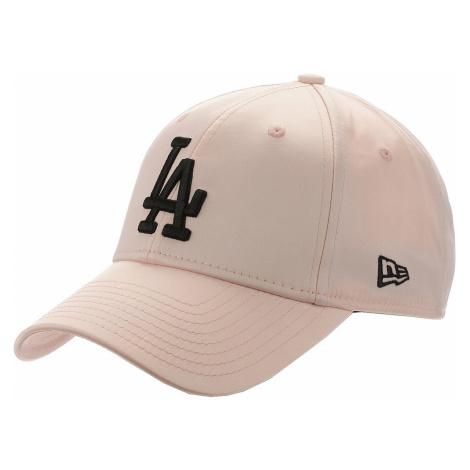 czapka z daszkiem New Era 9FO Satin MLB Los Angeles Dodgers - Pink/Black