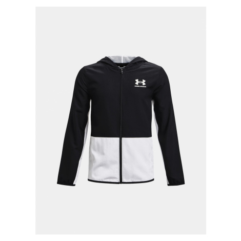 Under Armour Jacket Woven Track Jacket-BLK