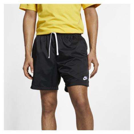 Męskie spodenki z tkaniny Nike Sportswear - Czerń