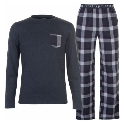 Firetrap Long Sleeve Pyjama Set Men's