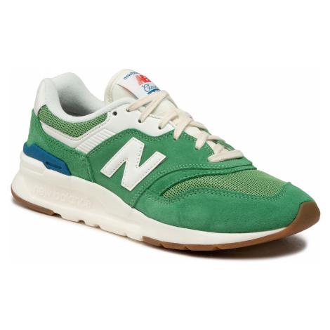 Sneakersy NEW BALANCE - CM997HRL Zielony