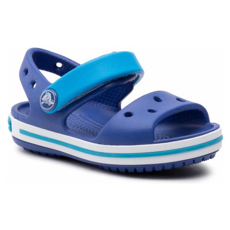 Sandały CROCS - Crocband Sandal Kids 12856 Cerulean Blue/Ocean