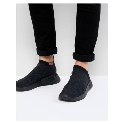 Adidas Originals NMD CS2 Primeknit Boost Trainers In Black CQ2373