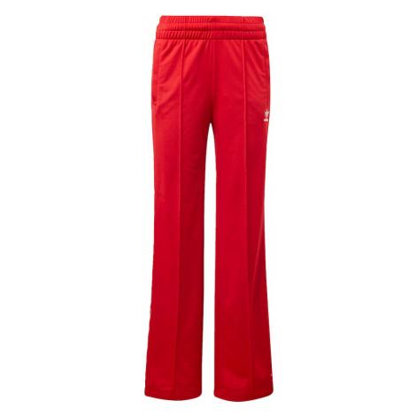 ADIDAS ORIGINALS Spodnie krwistoczerwony