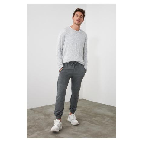 Spodnie dresowe męskie Trendyol Zipper detailed