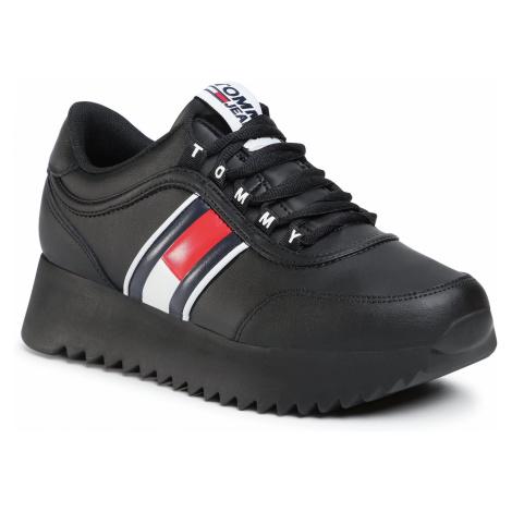 Sneakersy TOMMY JEANS - High Cleated Tommy Jeans Sneaker EN0EN00948 Black BDS Tommy Hilfiger