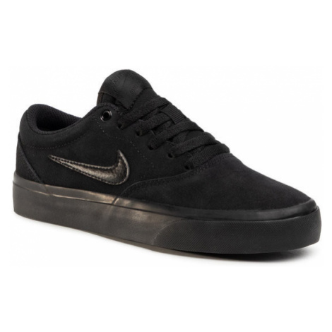 NIKE Buty Sb Charge Suede (Gs) CT3112 001 Czarny