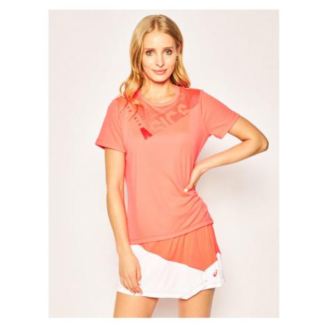 Asics Koszulka techniczna Practice W Gpx Tee 2042A102 Różowy Regular Fit
