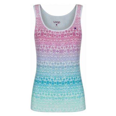 Loap ALISHA biały XL - Koszulka damska