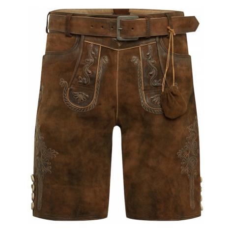 MARJO Spodnie brązowy