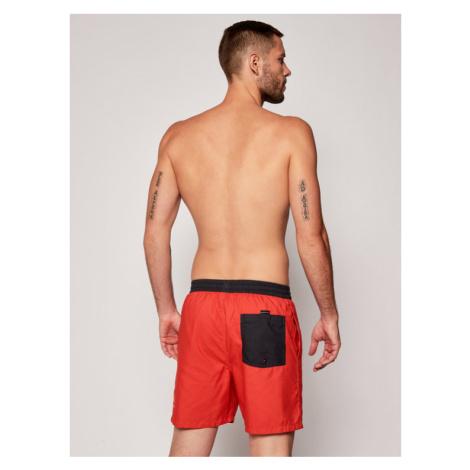 Quiksilver Szorty kąpielowe Dredge Volley 17 EQYJV03575 Czerwony Regular Fit