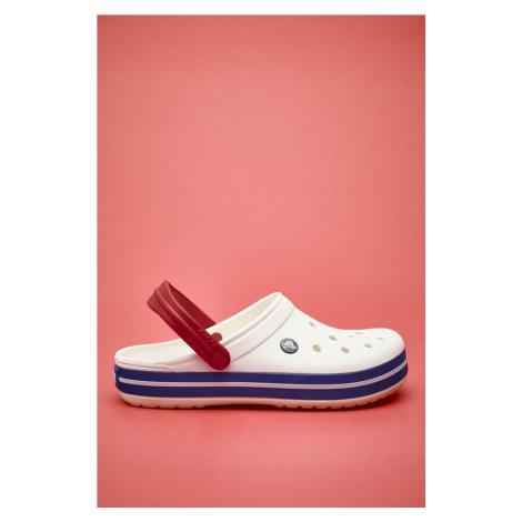 Klapki Crocs Crocband White Blue Jean 11016-11I White/blue Jean