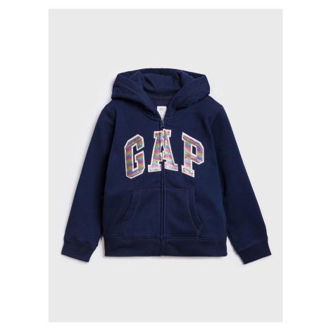 GAP niebieski dziewczęce bluza
