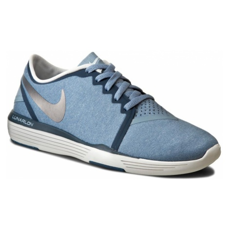 Buty NIKE - Lunar Sculpt 818062 405 Blue Grey/Metallic Silver